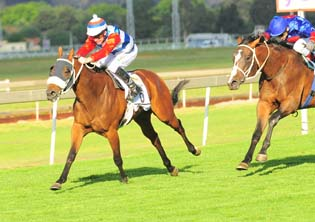 Lerena shows his class against the best jockeys in the world
